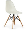 Boca Raton Accent Chair in Winter White Colour by HomeHQ