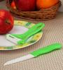 Boffiki Green Plastic Peeler with Knife
