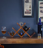 Bogota Wine Rack in Honey Oak Finish by Woodsworth