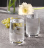 Bohemia Crystal Ideal Glass 250 ML Water Glasses - Set of 6