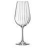 Bohemia Crystal Viola Waterfall 550 ML Wine Glasses - Set Of 6