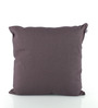 Bombay Dyeing Grey Cotton 16 x 16 Inch Cushion Cover