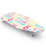 Bonita Mini Ironing Board With  Bright Text