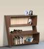 Book Shelf cum Display Unit in Versailles Finish by Arancia Mobel