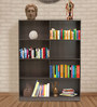 Bookshelf in Beech Chocolate Finish by Heveapac
