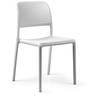 Bora Bistrot Chair in Bianco Finish by Nardi