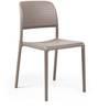 Nardi Bora Bistrot Chair in Tortora Finish by Patios