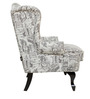 Bordeaux Beauty Chair in Black color by Urban Living