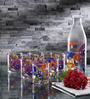 Borgonovo Glass Water Bottle - Set Of 7