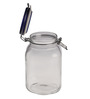 Bormioli Rocco Fido Blue Lid Glass 2 L Jar