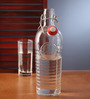 Bormioli Rocco Officina Clear Glass 1.2 L - Set of 2 Bottles