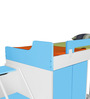 Boston Twin Bunk Bed Set in Blue & White Colour by Alex Daisy