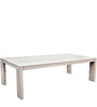 Bouram Eight Seater Dining Table in Natural Finish by InLiving