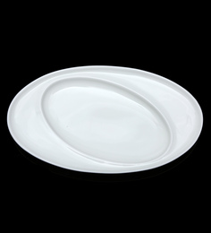 BP Bharat Fine Bone China Bannu Kabab Platter