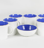 Bp Bharat Bone China Good Morning Tea Set - Set of 6