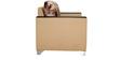 Brio Two Seater Sofa in Camel Colour by Furnitech