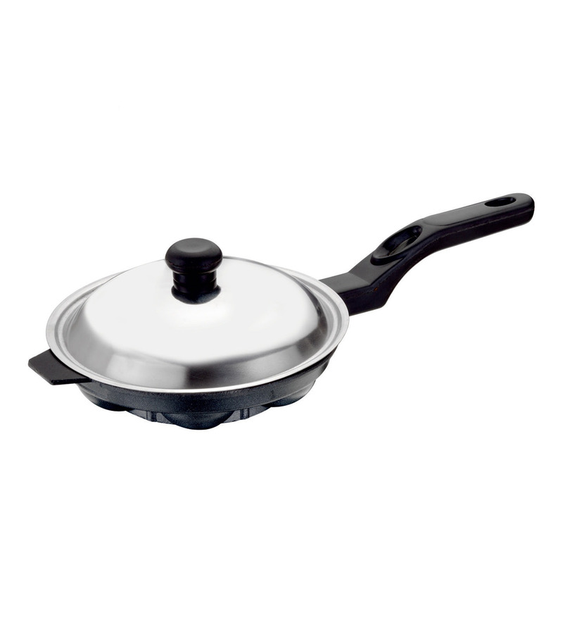 Bright Home Appliances Household Aluminum Idli and Appam Maker with Lid  available at Pepperfry for Rs.419