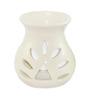 Brahmz White Regular Aroma Oil Burner