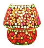 Brahmz G81 Red & Green Glass Mosiac Table Lamp