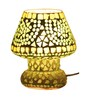 Brahmz Multicolour Glass Table Lamp