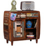 Zac Cabinet in Distress Finish by Bohemiana