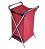 Brancley Stainless Steel 24 L Red Large Laundry Basket