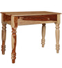 Barwick Study & Laptop Table in Natural Finish by Amberville
