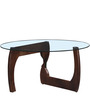 Boulder Coffee Table in Provincial Teak Finish by Woodsworth
