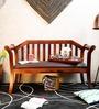 Tytler Bench in Honey Oak Finish by Amberville