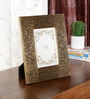 Ethnic Clock Makers Brown Solid Wood 9 x 1 x 11 Inch Designer Photo Frame