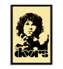 Bravado Fibre with Wood Texture 13 x 19 Inch Jim Morrison The Doors Framed Posters
