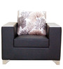 Brio One Seater Sofa in Grey Colour by Furnitech