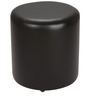 Brito Round Pouffe in Black by Siwa Style