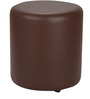 Brito Round Pouffe in Brown by Siwa Style