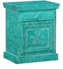 Minnie Bed Side Table in Distress Finish Finish by Bohemiana