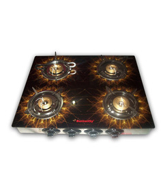 Butterfly Special Edition 4-burner Gas Stove