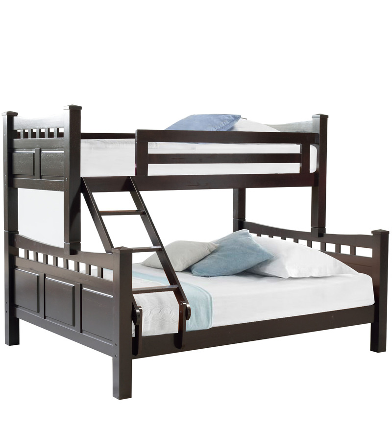 buy mcliam queen bunk bed in cappucino finish by. Black Bedroom Furniture Sets. Home Design Ideas