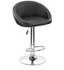 Bucket Bar Chair in Black Colour by The Furniture Store