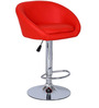 Bucket Bar Chair in Red Colour by The Furniture Store