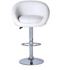 Bucket Bar Chair in White Colour by The Furniture Store