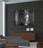 Hashtag Decor Buddha Statue Engineered Wood 27 x 20 Inch Framed Art Panel