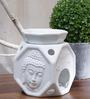 Importwala.com Buddha Face Octagon Oil Burner
