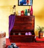 Winlock Shoe Rack in Honey Oak Finish by Woodsworth
