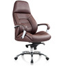 Buff Executive Chair in Brown PU by Oblique