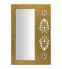 Butterfly Homes Gold Wood Splendid Dressing Mirror