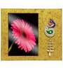 Butterfly Homes Multicolor Wooden 7.5 x 9 Inch Peacock Single Photo Frame