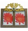 Butterfly Homes Brown Wooden 8.5 x 12 Inch Regal Single Photo Frame