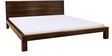 Cadbury Queen Bed in Warm Rich Finish by Inliving