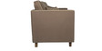 Carmelo Two Seater Sofa in Dark Brown Colour by Urban Living
