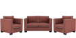 Carolina Sofa Set (2+1+1) Seater in Cherry Color by ARRA